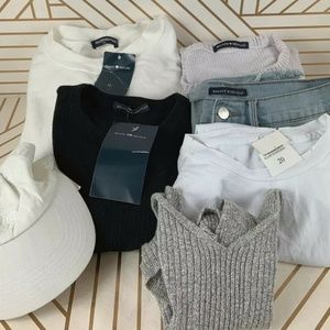 BRANDY MELVILLE LOT BUNDLE OF 7 Items Some New!